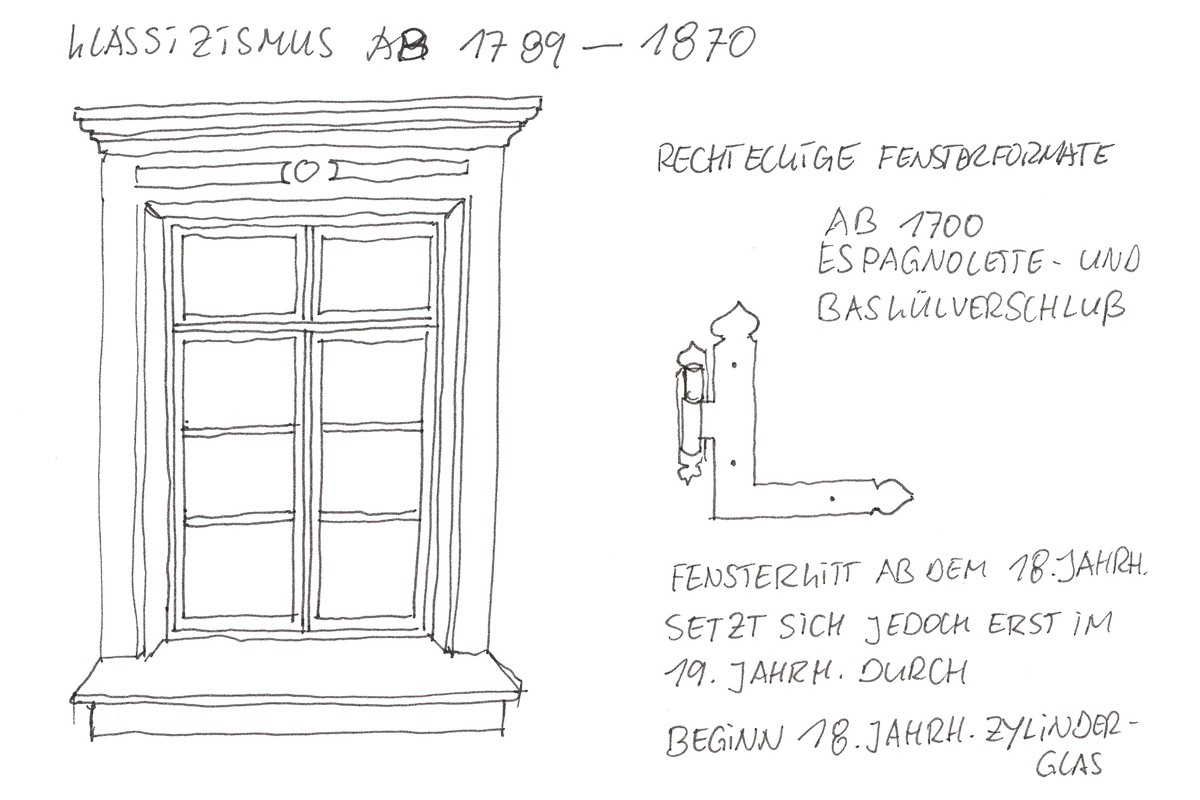 klassizismus fenster fensterkultur machen sie den h usern sch ne augen. Black Bedroom Furniture Sets. Home Design Ideas